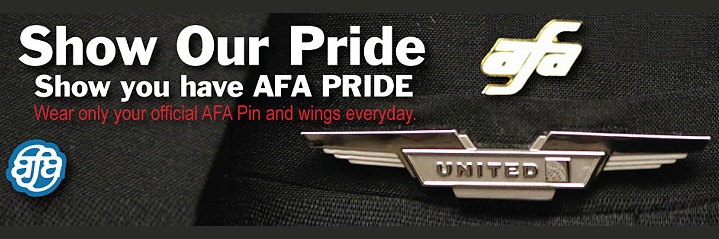 wear your AFA pin