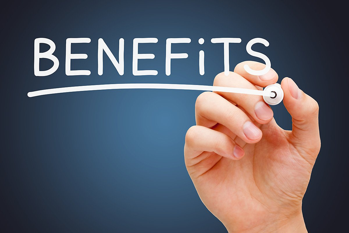 benefits and pay