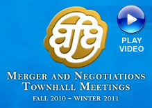 Merger and Negotiations Townhall Meetings