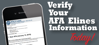 Dear AFA: February 06 2015
