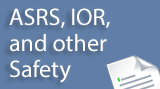 OSAP, FASRs, and other Safety Reports